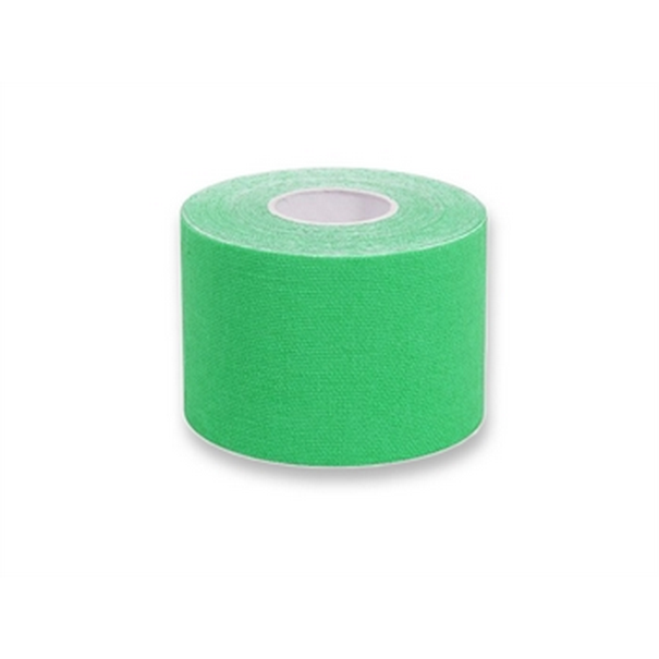 TAPING KINESIOLOGIA 5 m x 5 cm - verde